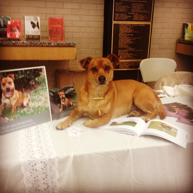 Author Book signing MLK Library#dogs #philosopherdog #dc libraries#gift books#rescuedogs