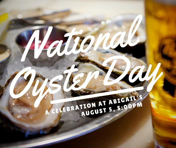 Abigail's in ( 291 Third St, Cambridge) has $oysters