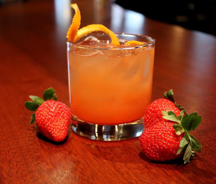 Strawberry New Fashioned