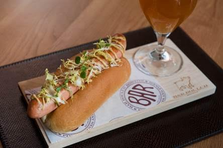 "Bar Boulud's ""DB Dog"" Image via Bar Boulud"
