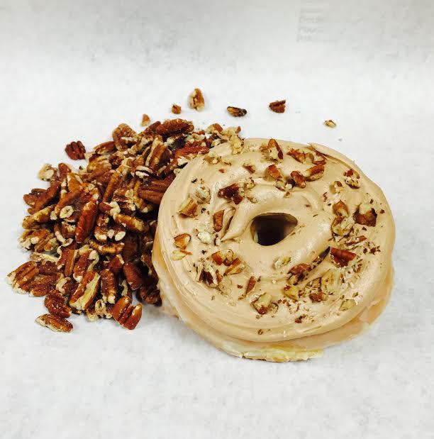 Butter Pecan Donut.