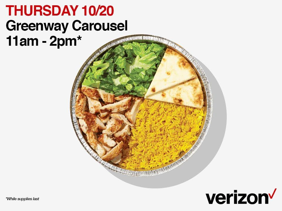 Free Chicken Rice Guys Lunch Courtesy Of Verizon