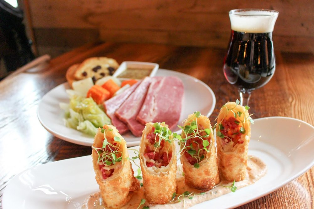 Special Menu items from City Tap House Boston. Photo courtesy of City Tap House Boston
