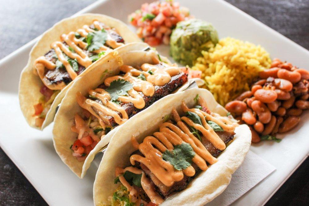 Cask 'n Flagon - Pork Belly Tacos (5).JPG