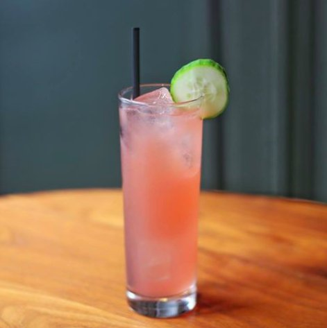 Photo, Cucumber Melon Margarita from The Merchant Social Media