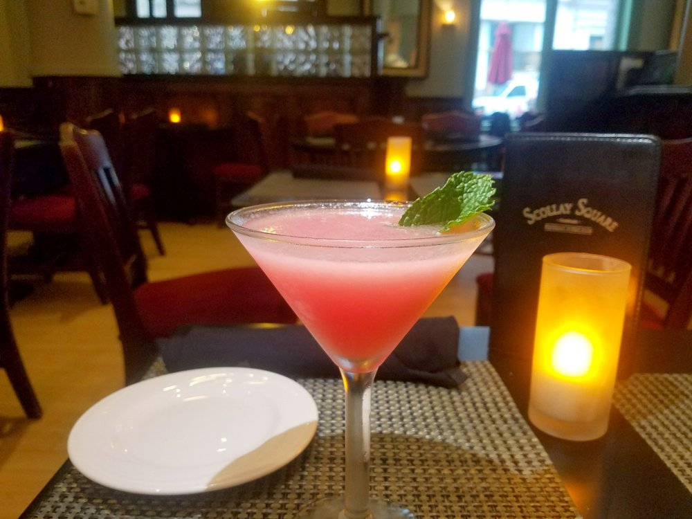 Photo, WatermelonTini from Scollay Square. Provided by @bostonattitude