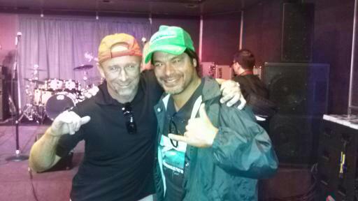 Good friend Rob Trujillo of Metallica