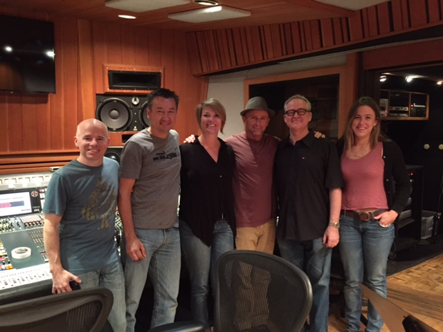 Village Recorders session with Tim Pierce, James Keegan and producer Mike Eckart