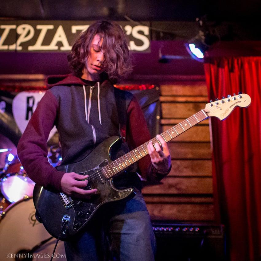 Rok Academy's own Zane Jones on guitar...