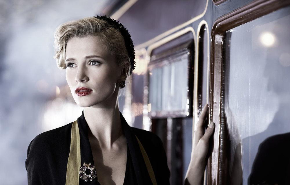 Malmaison. Shot at the National Railway Museum in York. Styling by Lucy Hallard. Make-up & Hair by Vanessa Calderone.