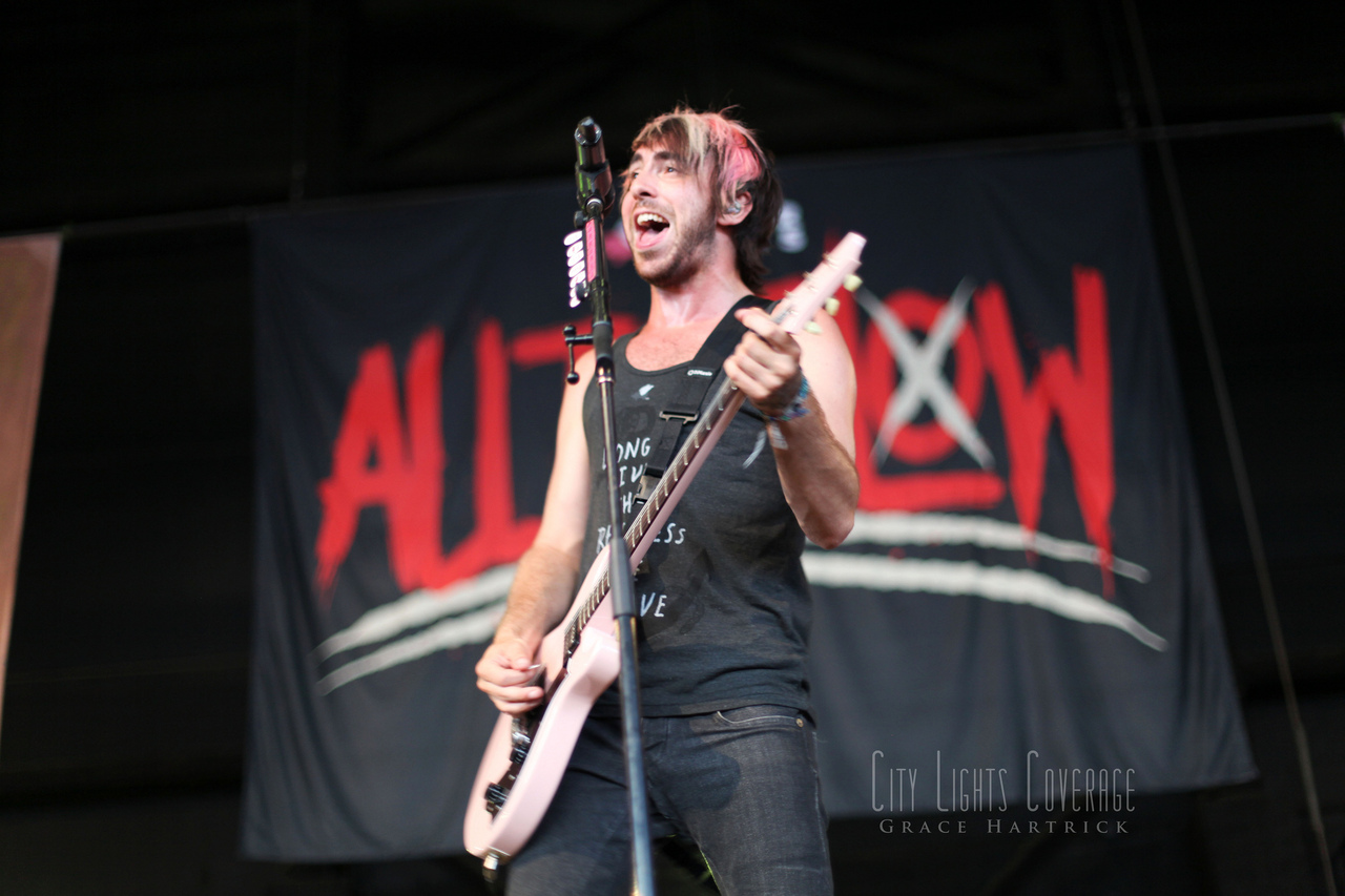 Alex Gaskarth of All Time Low July 30th - Charlotte, NC Vans Warped Tour 2012   View more photos from All Time Low's set here .    WEBSITE || COVERAGE || TWITTER || FACEBOOK