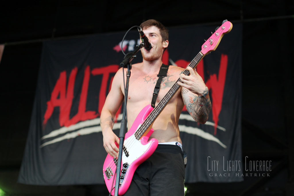 Zack Merrick of All Time Low July 30th - Charlotte, NC Vans Warped Tour 2012   View more photos from All Time Low's set  here .    WEBSITE || COVERAGE || TWITTER || FACEBOOK