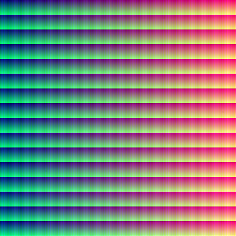 RGB Spectrum (255) ii