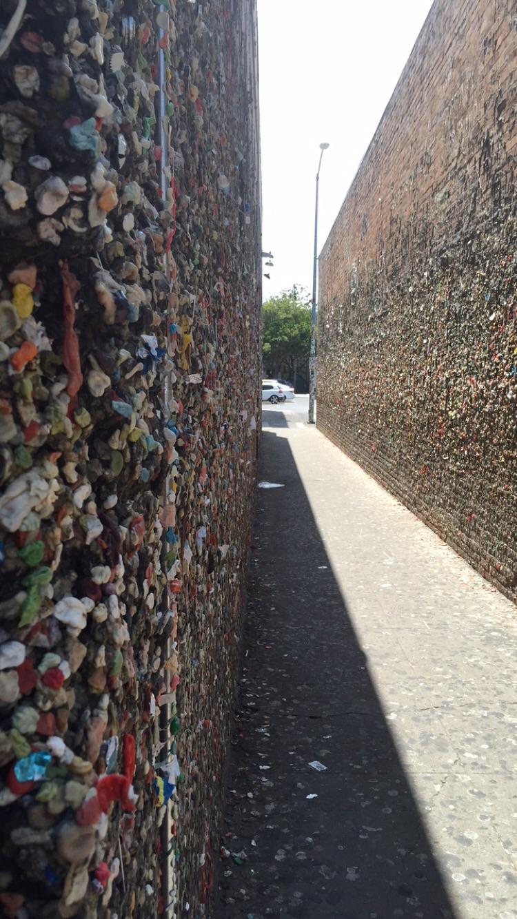 Bubble gum wall- San Luis Obispo, California