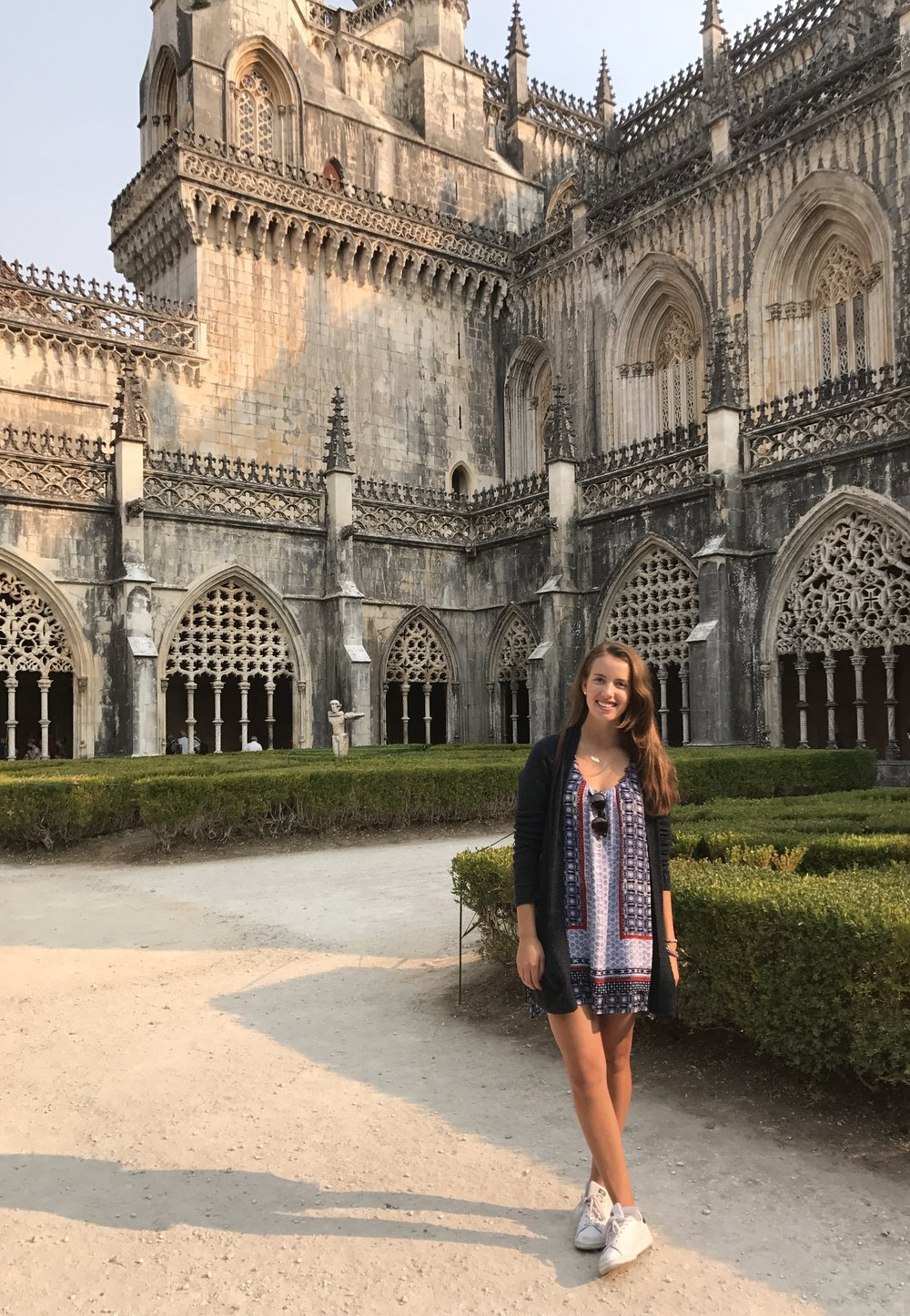 The Batalha Monastery... The architecture on this thing was breathtaking.