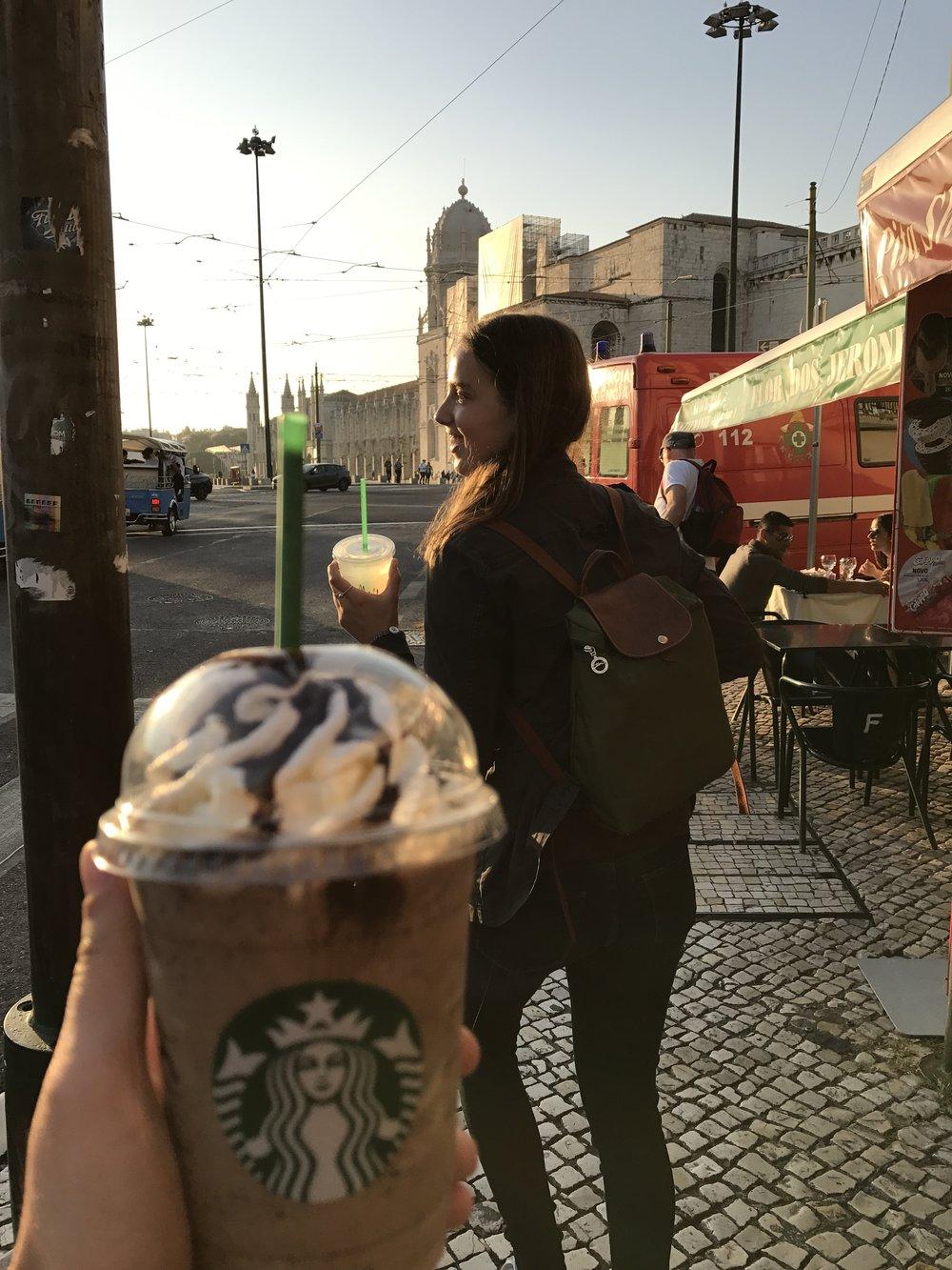 We found Starbucks!