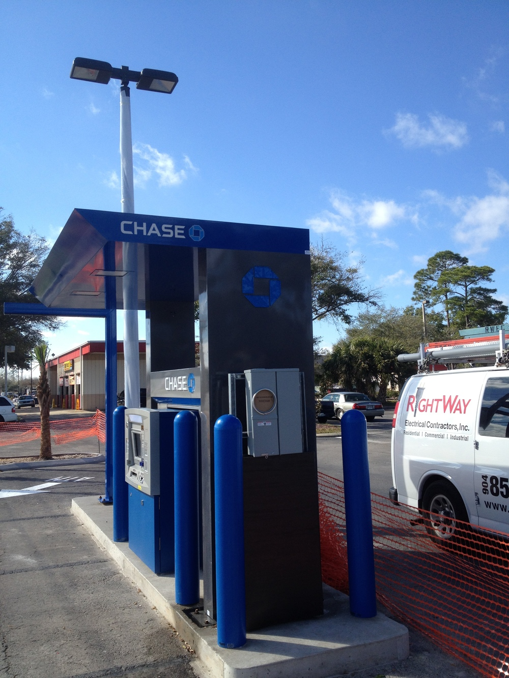 Drive-up ATM Installation (AFTER)