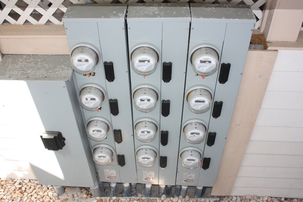 Condominium Meter Bank Replacement (AFTER)