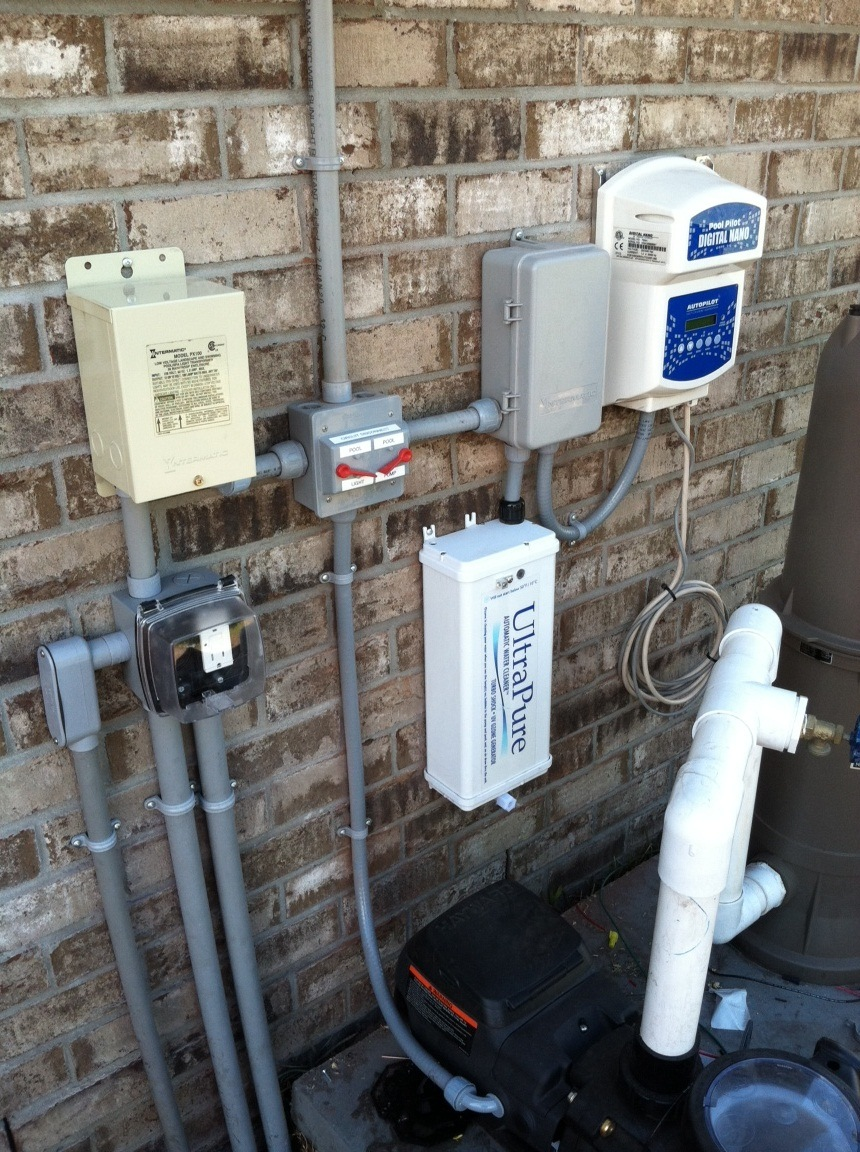 Pool Pump Equipment Wiring