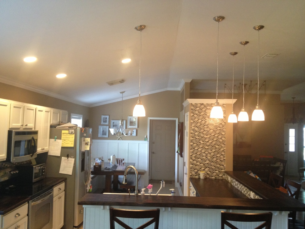 Recessed LED & Pendant Lighting