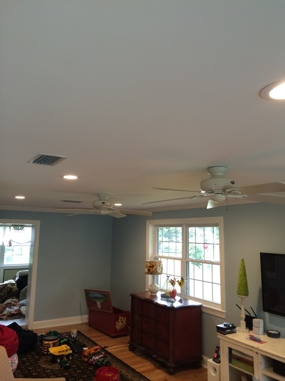 Home remodel - lighting & fans