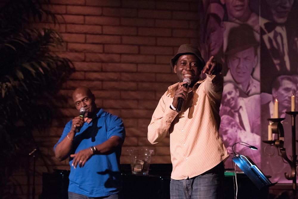 Mackly Benjamin Prophete (front) and Don Allen Hunley (back)