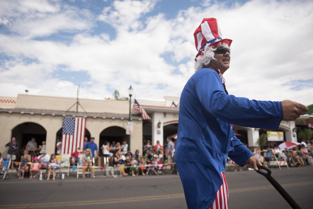 The Fourth of July parade traveled down Nevada Way at the 67th Annual Boulder City Damboree Celebration in Boulder City, Saturday, July 4, 2015.(JASON OGULNIK/BOULDER CITY REVIEW)