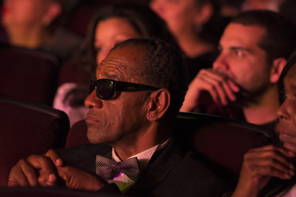 Ray Charles impersonator Johnnie Smoot attends The Reel Awards at Golden Nugget Hotel Casino in Las Vegas Monday, Feb. 22, 2016. The Reel Awards are meant to be a humorous tribute to the real Academy Awards. Jason Ogulnik/Las Vegas Review-Journal