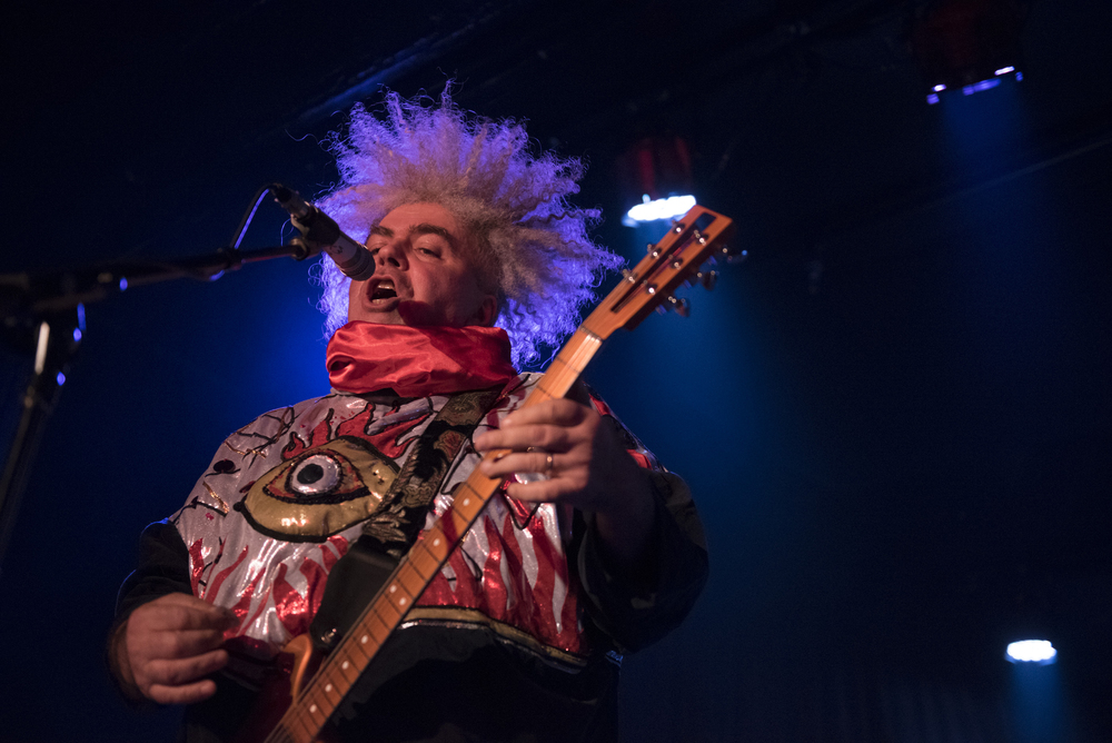 Melvins performs at Fremont County Club during the third night of the Neon Reverb music festival in downtown Las Vegas Saturday, March 12, 2016. The multi-venue festival features nearly 100 performances over four nights. Jason Ogulnik/Las Vegas Review-Journal