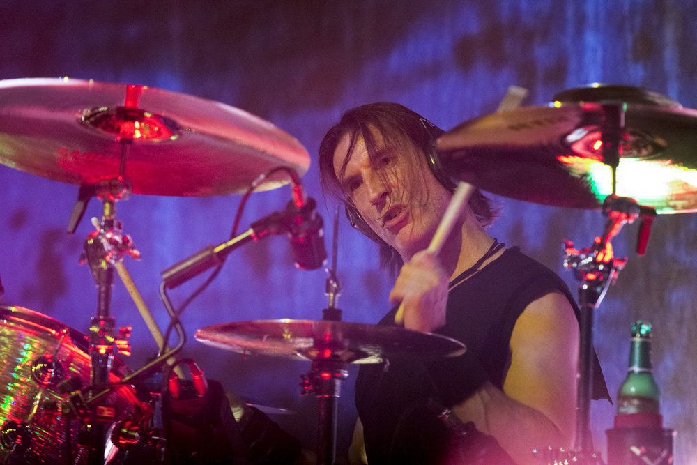 Sean Kinney performs with Alice In Chains at The Pearl Theatre in Las Vegas, Saturday, July 18, 2015.