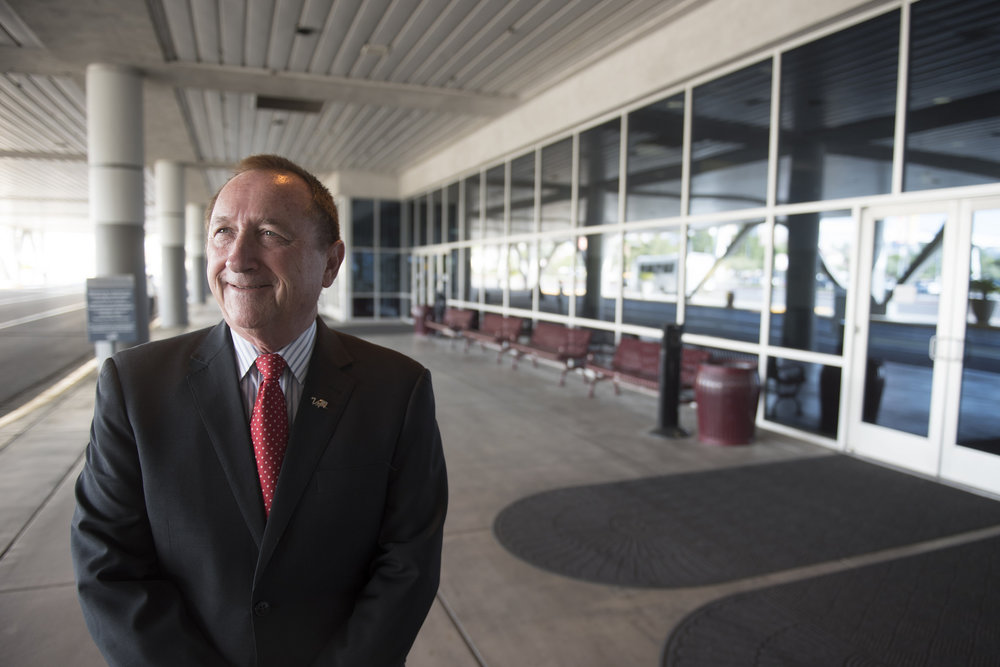 Rossi Ralenkotter, president and CEO of the Las Vegas Convention and Visitors Authority, poses at the Las Vegas Convention Center in Las Vegas, Wednesday, Sept. 2, 2015. (Jason Ogulnik/Las Vegas Review-Journal)