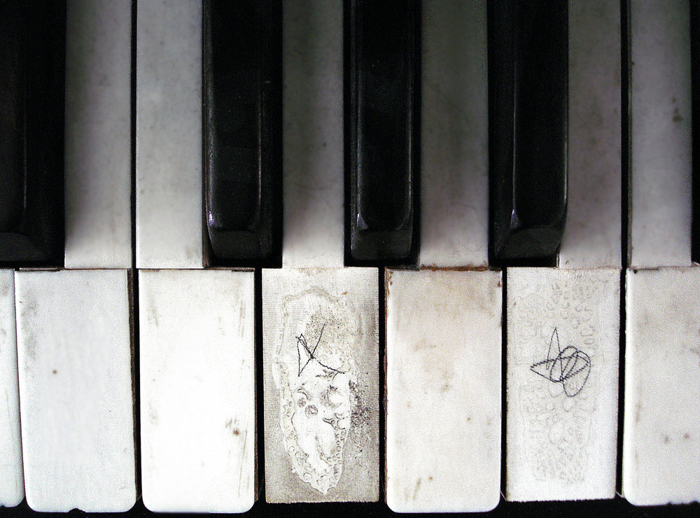 According to radiocarbon dating, I mean EXIF data, this photo of my mom's piano was taken in 2008.