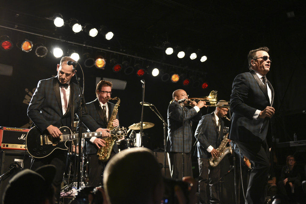 The Mighty Mighty Bosstones performs at Punk Rock Bowling music festival 2015 in Las Vegas, Nev..