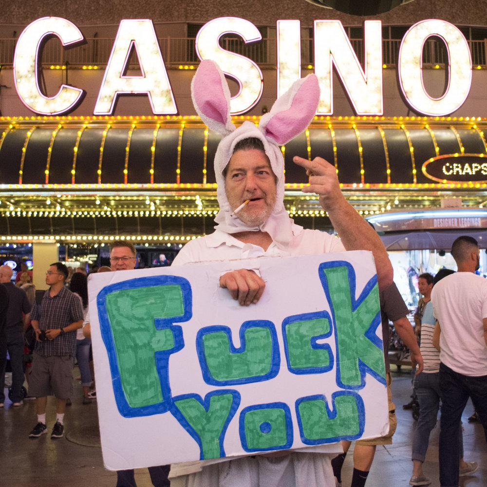Fremont Street Experience in Las Vegas, Nev., Sept. 14, 2017.