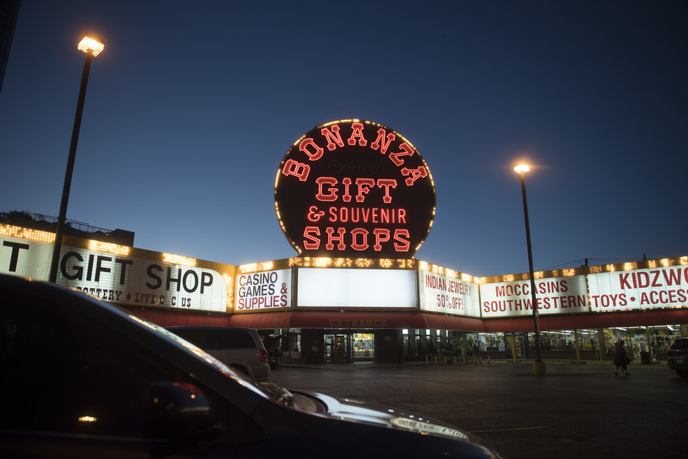 Bonanza Gift Shop at Las Vegas Boulevard and Sahara Avenue in Las Vegas, Nev., June 12, 2017.