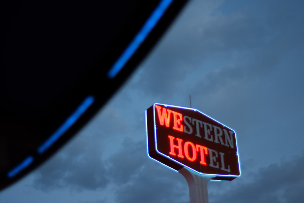 The Western Hotel in downtown Las Vegas, May 19, 2018.