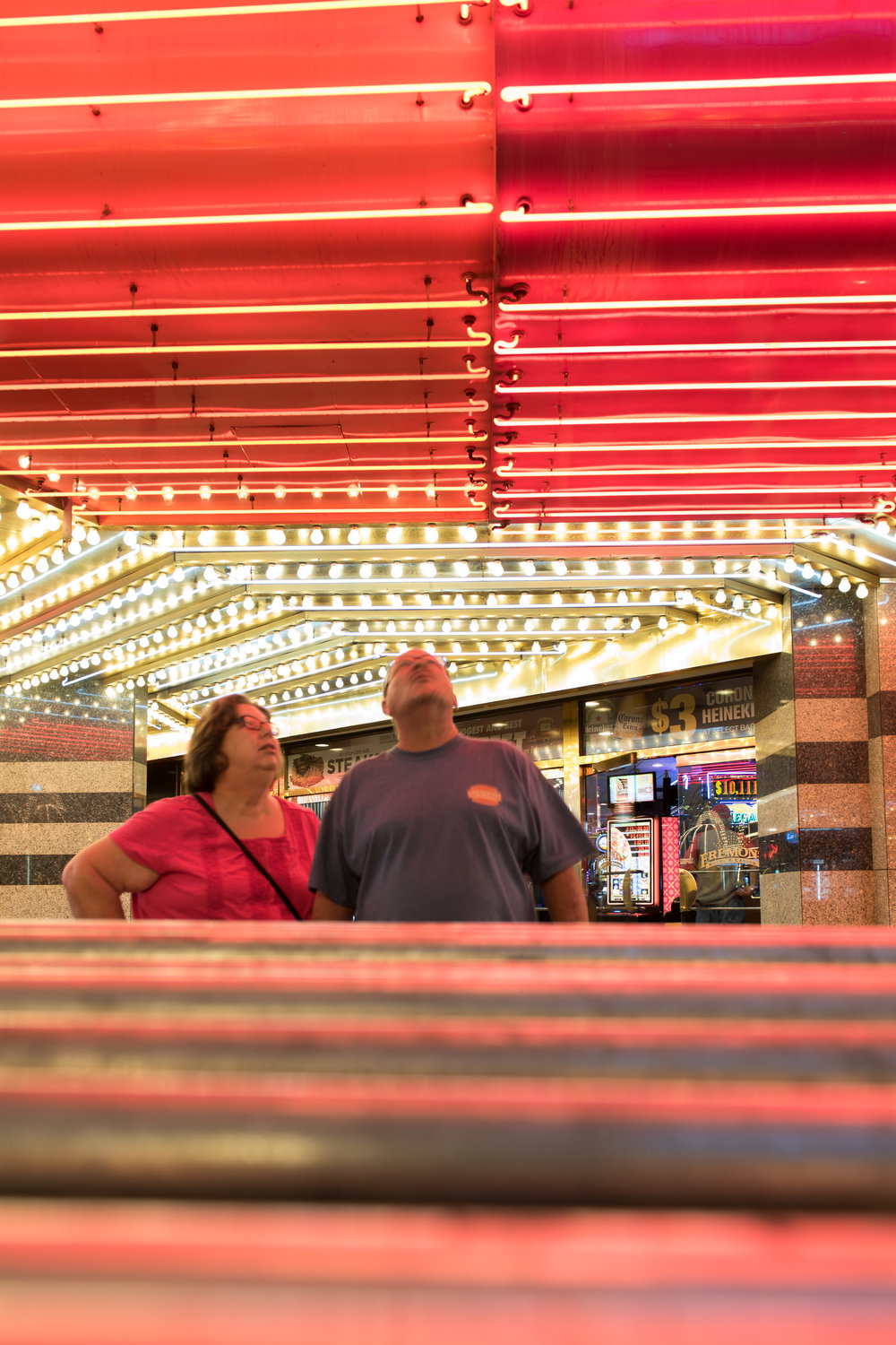 Fremont hotel-casino in downtown Las Vegas, May 29, 2018.