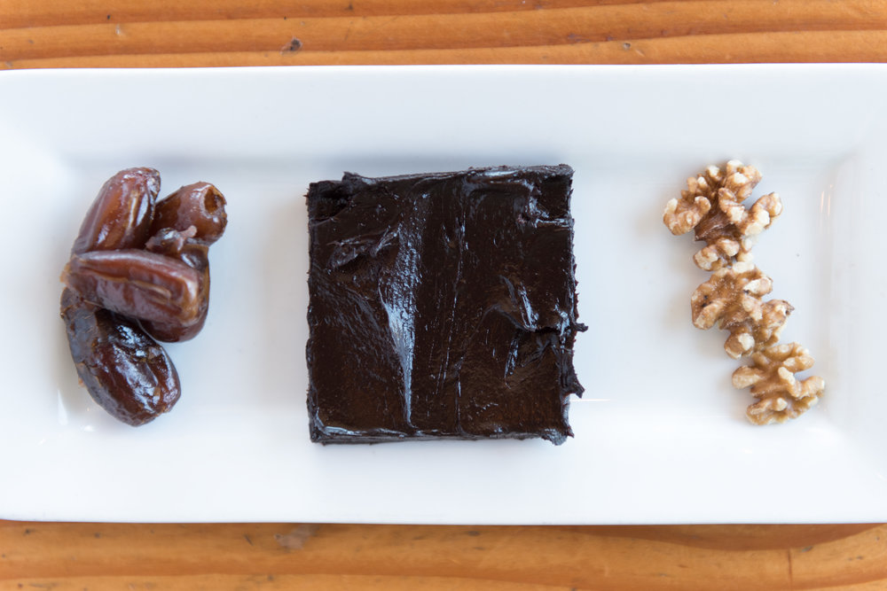 A Raw Vegan Brownie at MadHouse Coffee in Las Vegas.