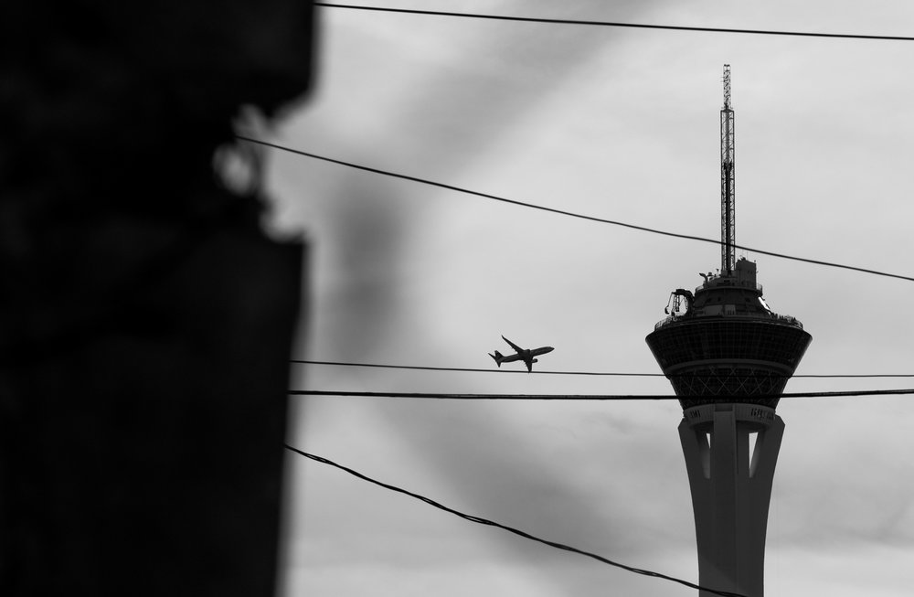 The Stratosphere hotel-casino in Las Vegas.