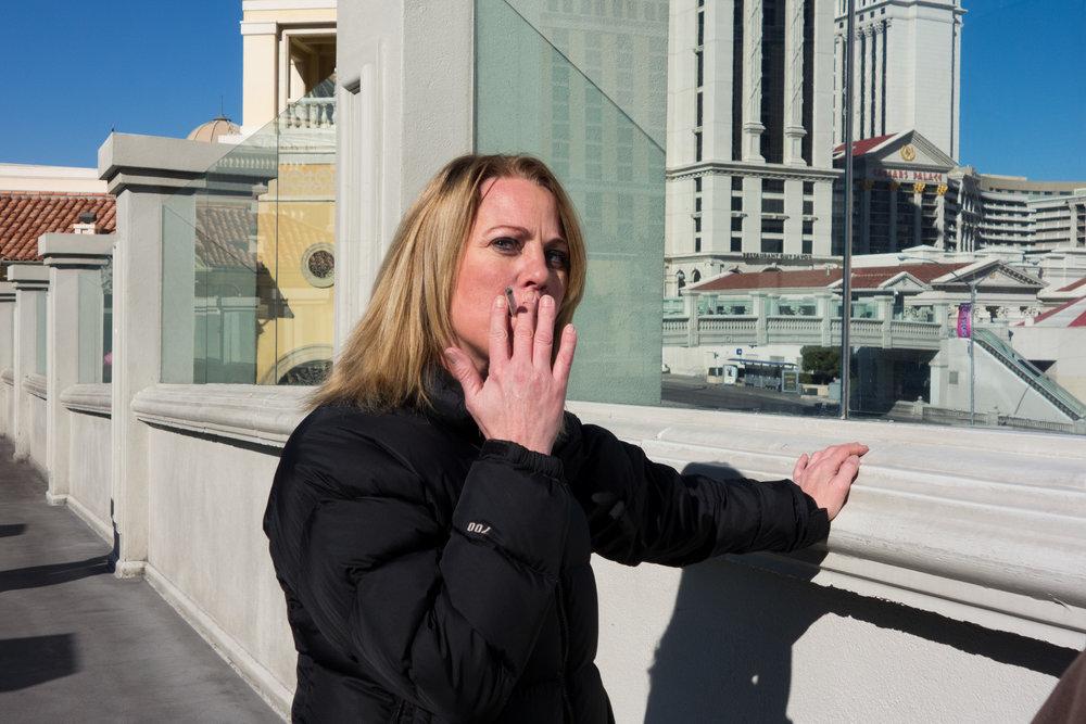 Las Vegas Boulevard and Flamingo Road in Las Vegas. Feb. 7, 2019.