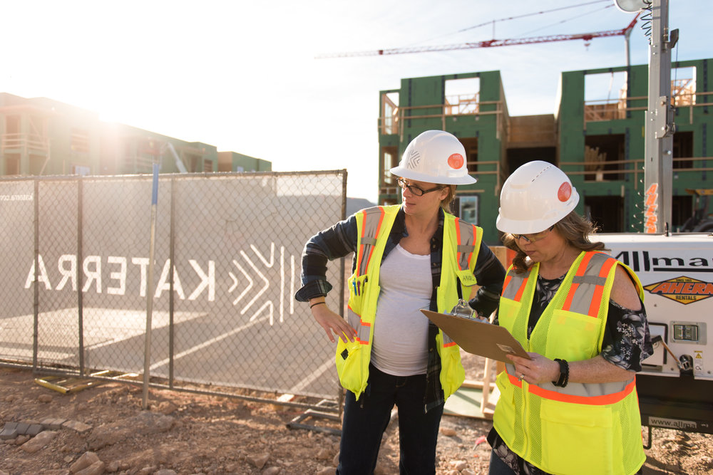 Recently I got to document an apartment construction project in southwest Las Vegas for Katerra.