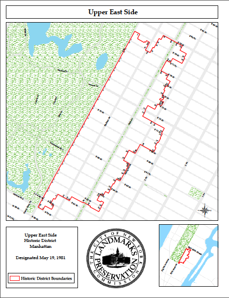 UES-Historic District-Map