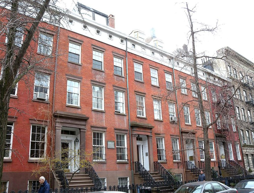 Greek Revival -   Cushman Row on West 20th Street in Chelsea, Greek Revival rowhouses