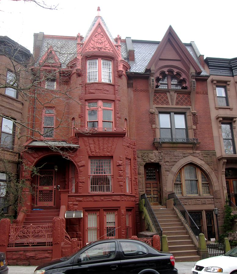 Rowhouse Styles Of New York City Right Path Windows