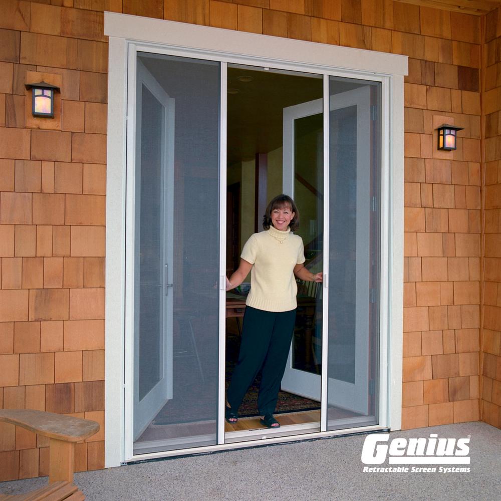 Milano - Custom Double Door Screen & Milano - Custom Double Door Screen u2014 Right Path Windows u0026 Restorations