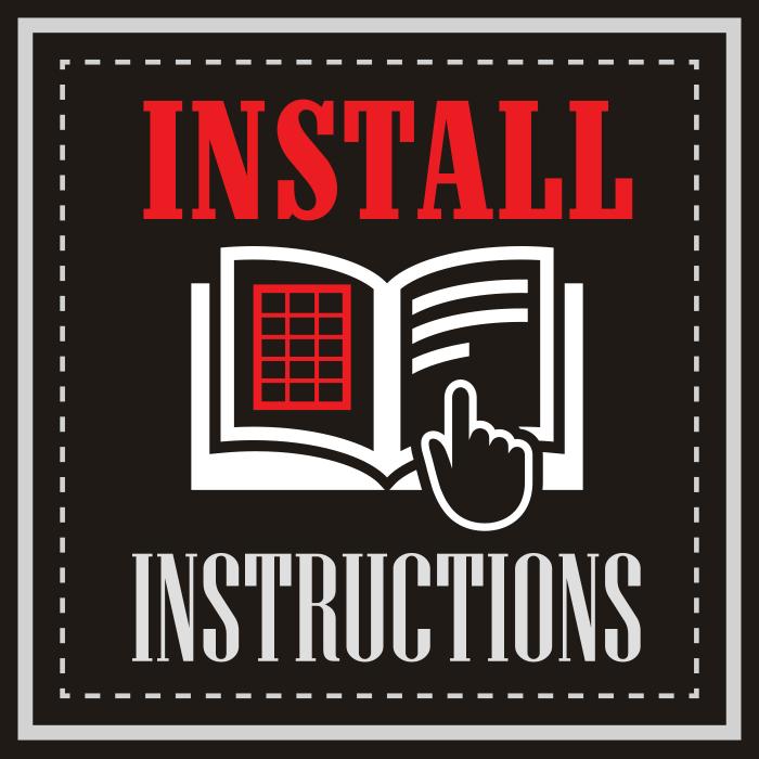 Install instructions