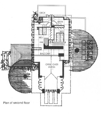 Frank Lloyd Wright Ben Rebhuhn House Floorplan 2.jpg