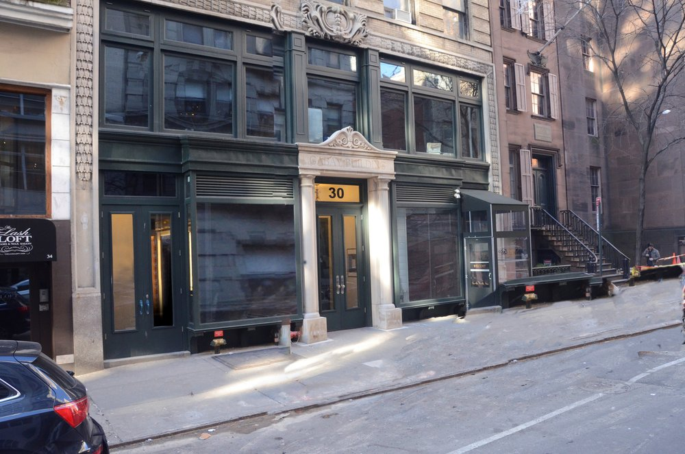 Right Path Windows & Restoration fabricated this two story storefront facade at 30 East 20th St.