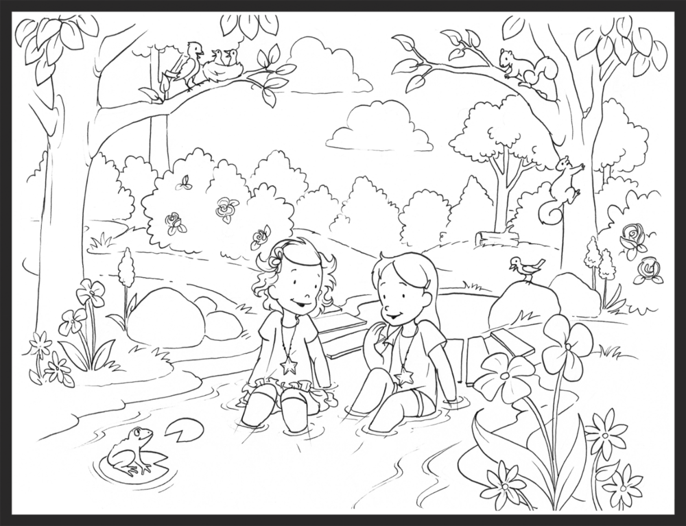 forestcoloringpage
