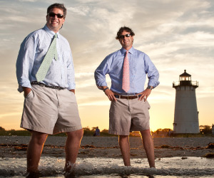 The Vineyard Vines brothers, Shep and Ian.